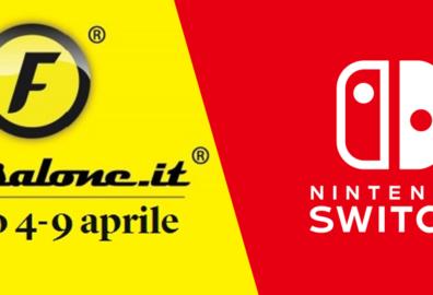 Nintendo Switch al Fuorisalone 2017