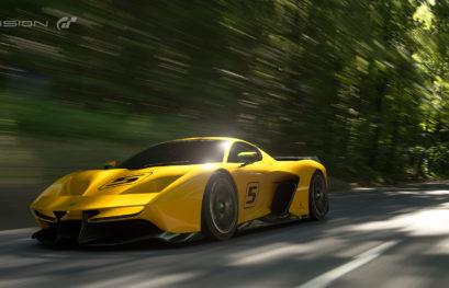 La EF7 Vision Gran Turismo e l'esclusivitá di GT Sport