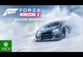 Forza Horizon 3: disponibile Blizzard Mountain Expansion