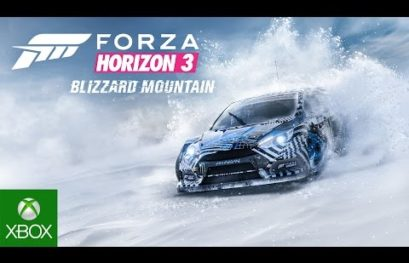 Forza Horizon 3: disponibile Blizzard Mountain Expansion