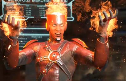 Trailer di presentazione per Firestorm, nuovo personaggio di Injustice 2