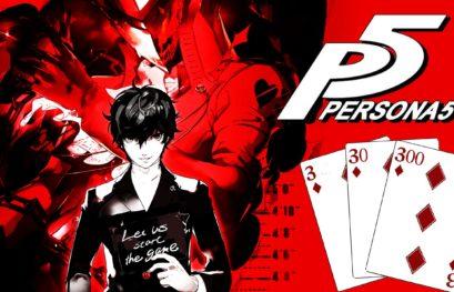 Persona 5: una skin esclusiva per il Dualshock 4