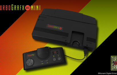 Torna in vita il PC Engine: Konami annuncia la console PC Engine Core GRAFX Mini
